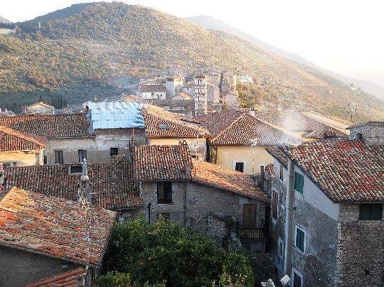Vista dal castello di Sermoneta