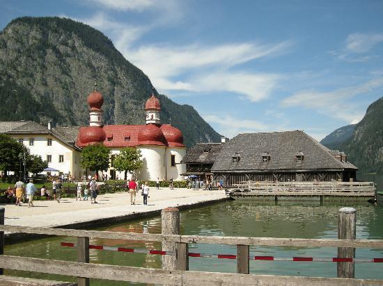 Schoenau am Koenigssee, Γερμανία: Iglesia de S. Bartolomé
