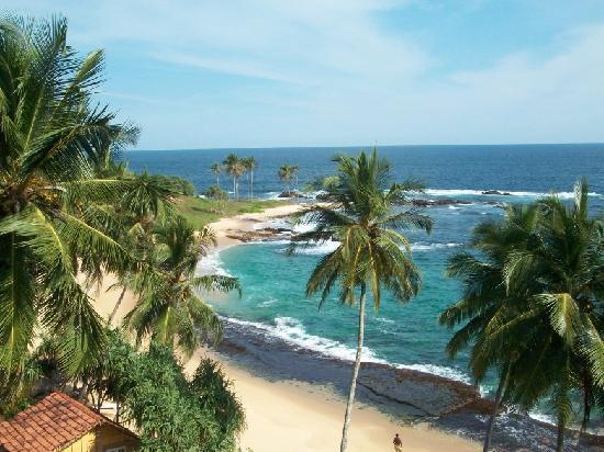 Eva Lanka Hotel: spiaggia