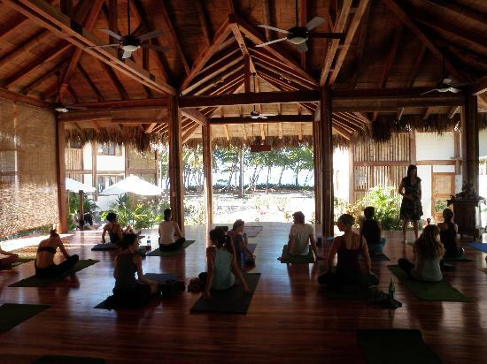 Lucero Surf Retreats : Yoga at Pranamar Hotel