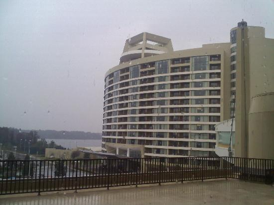 Bay Lake Tower at Disney's Contemporary Resort: view from the Contemporary