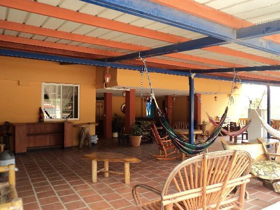 Hotel Residencial El Valle: Parte Superior del Hotel (Area Social)