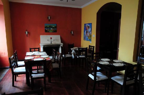 Mansion Santa Isabella: Breakfast Room