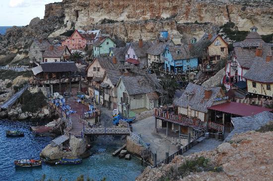 uPhotoMalta : Popeye Village
