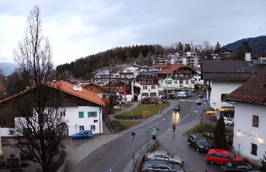Bon Alpina: view from balcony