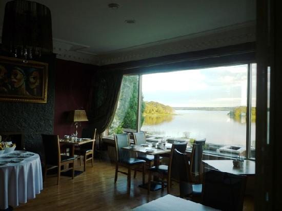 St Kyrans Country House & Restaurant: View from breakfast room