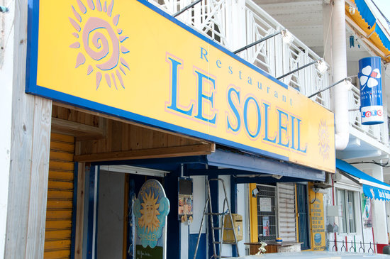 Restaurant le Soleil : Le Soleil Restaurant, Grand Case, St. Martin