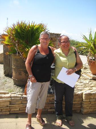 My Aruban Home: Me and my hostess Judith