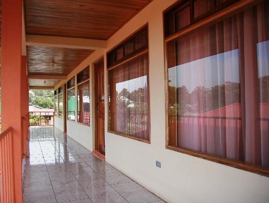 Hotel La Puesta del Sol: Second floor balcony