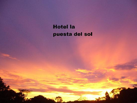 Hotel La Puesta del Sol : Sunset view