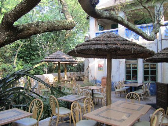 Tusker House Restaurant: outside of the restaurant