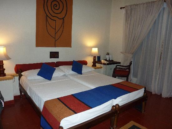 A room in Hotel Sigiriya