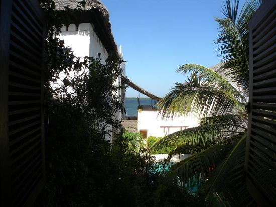Lamu House Hotel: view from the room