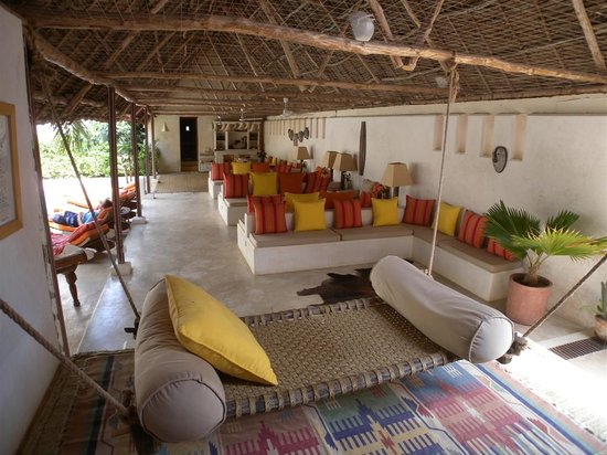 Lamu House Hotel : main pool area
