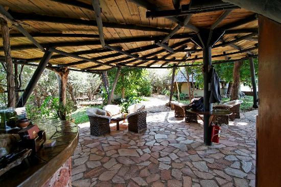 Musango Safari Camp: Espace commun