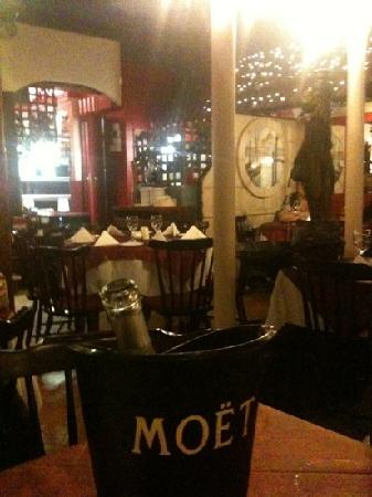 La Fontana Italian Restaurant: View from our table