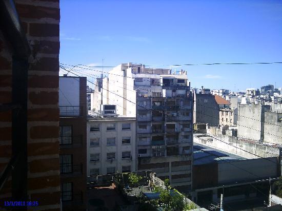 Duomi Plaza Hotel: Vista do último andar do hotel de B.A.