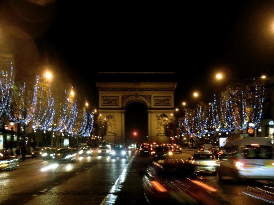 Paris, Frankrike: weihnachten @ Champs-Elysées