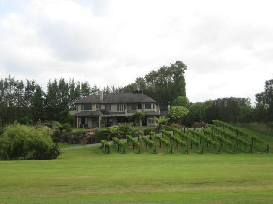 View of Matahui Lodge