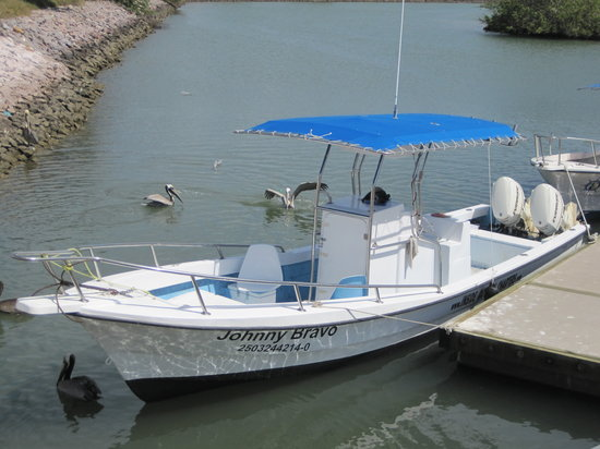 Inside Outside Charters : Johnny Bravo center console