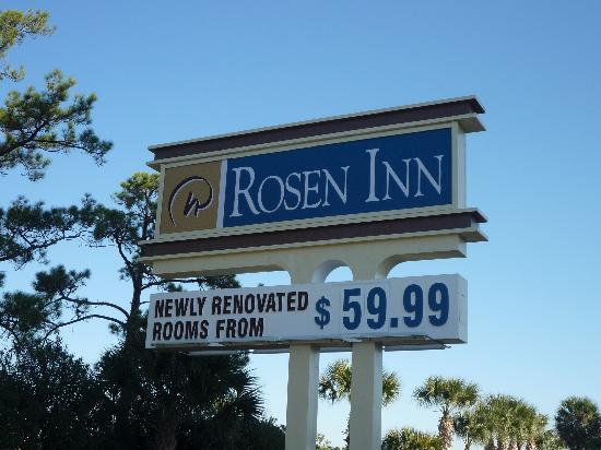 Rosen Inn: Sign