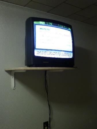 Northland Motel: Circa-80's model TV