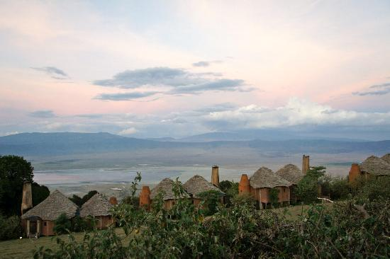 andBeyond Ngorongoro Crater Lodge: View of the crater from our balcony