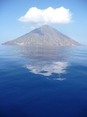 Isola di Salina, Italie : Stromboli