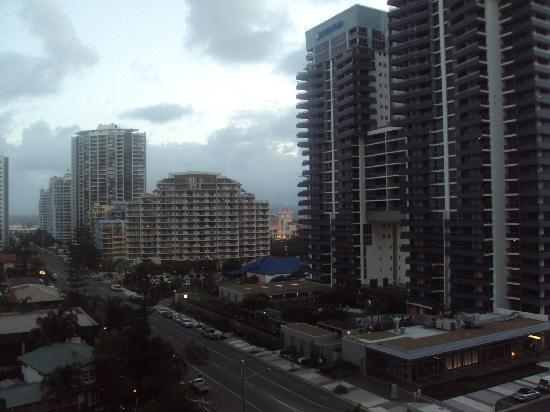 Peppers Broadbeach: View from room with hinterland views