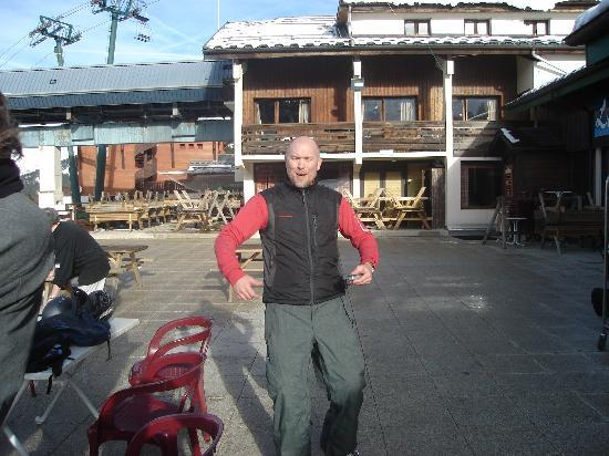 Chalet Les 4 Vents : Richard, owner, Joke teller and team leader