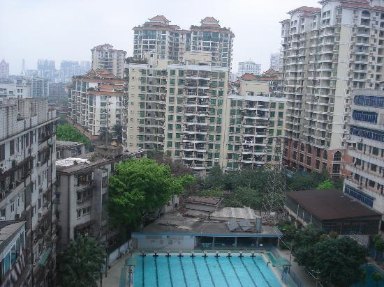 Hua Hai Hotel: View from my room - Terrible!!