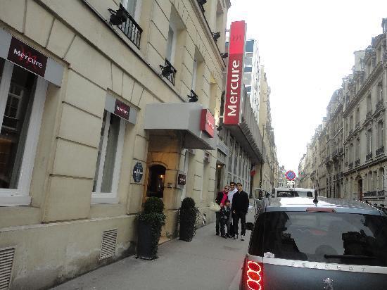 Hotel Haussmann Saint Augustin: Hotel