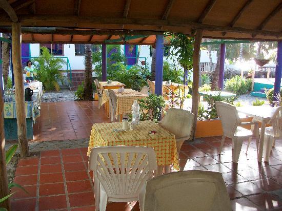 Jump N' Jibe: terrasse / petit déjeuner