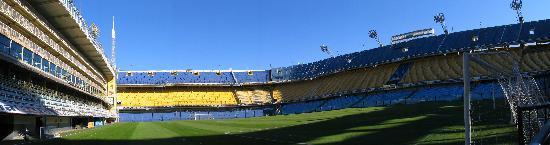Buenos Aires, Argentina: 'La Bombonera' (Boca Junior's football stadium)