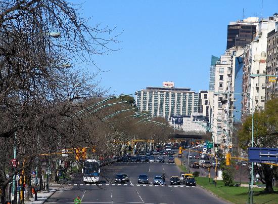 Buenos Aires, Argentina: Avenue in Recoleta