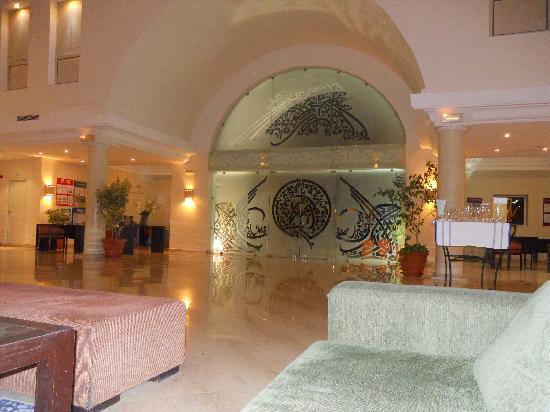 Seabel Aladin Djerba: le hall