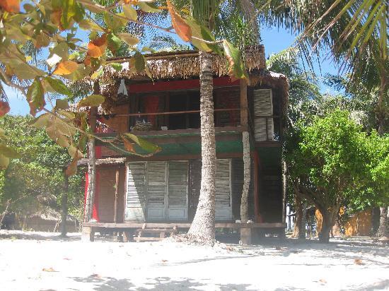 Mangenguey Island: Our Duplex Bungalow (upstairs room)