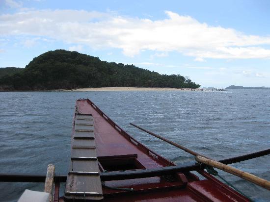 Mangenguey Island: View of the Island & Main Beach