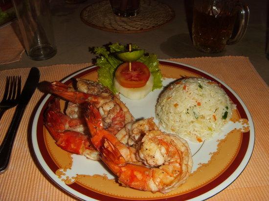 DiyaSisila Restaurant : Prawns!!