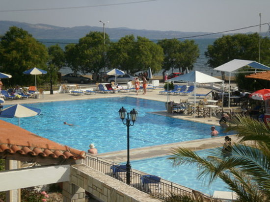 The Kalloni Bay Hotel: PoolMeer