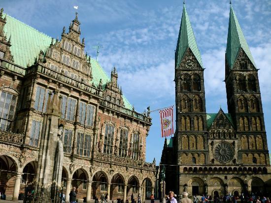 Brema, Germania: Rathaus und Dom