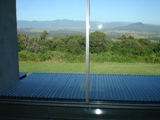The Bunyip Scenic Rim Resort: View from the upstair bedroom