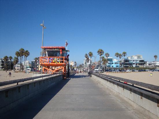Jolly Roger Hotel: La spiaggia di Marina del Rey