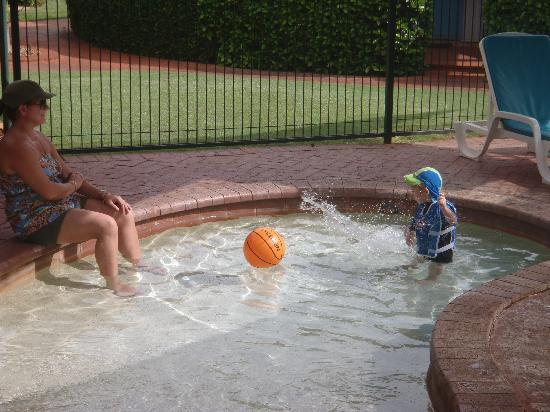 Broome Beach Resort: Toddlers Pool