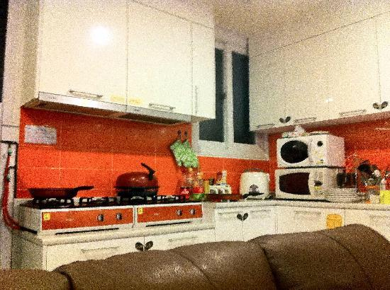 Yeha guesthouse: Common area: Kitchen