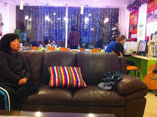 Yeha guesthouse: Common area: Lounge