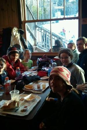 ski program at pats peak!!! in the main lodge