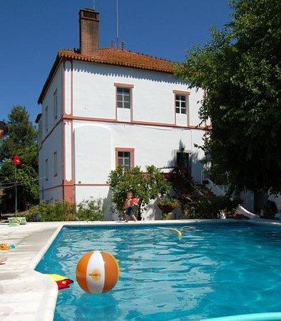 Elvas, Portugal: Main House and pool
