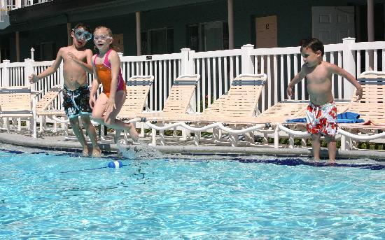 Sunrise Resort Motel South: Kids had a blast in the pool the following year when I brought them