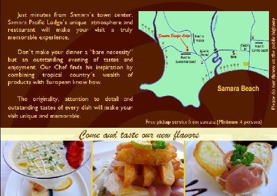 Samara Pacific Lodge Restaurant: Photo 2